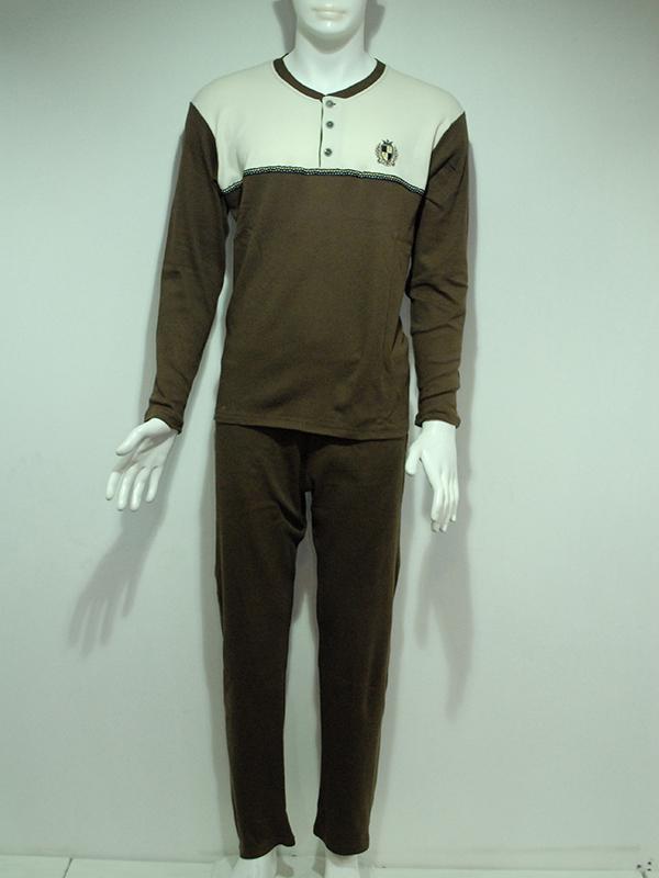 E312 Erkek İnterlok Pijama Takımı