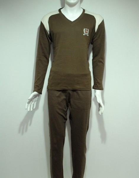 E302 Erkek İnterlok Pijama Takımı